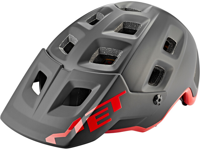 MET Terranova MIPS Helm, black/red